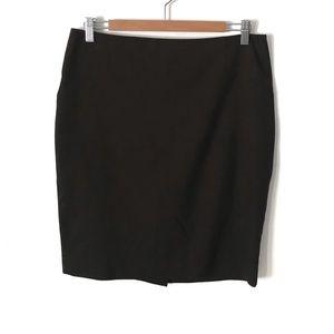 Limited Dark Brown Pencil Skirt